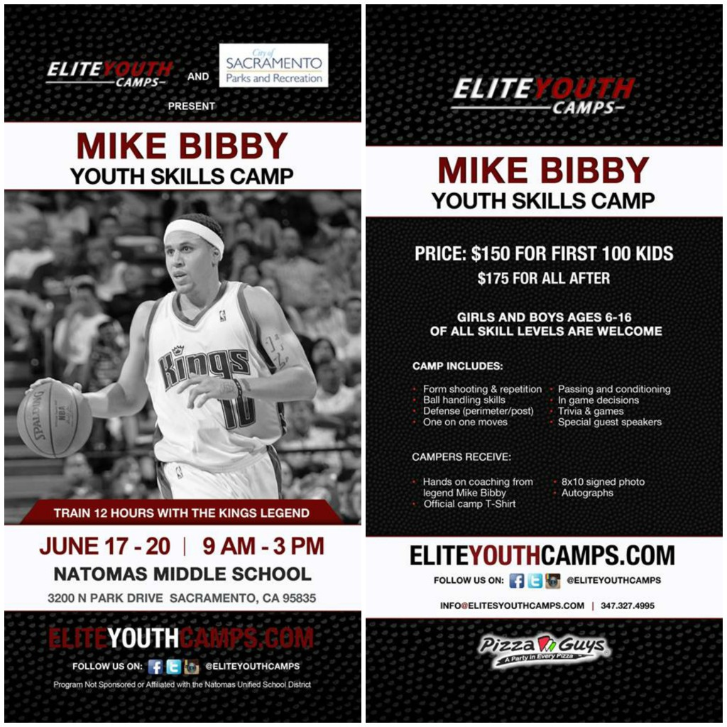 Mike Bibby Youth Skills Camp