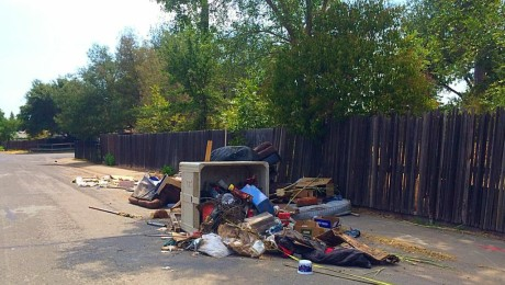 Illegal Dumping on Ripley St. and South Ave.